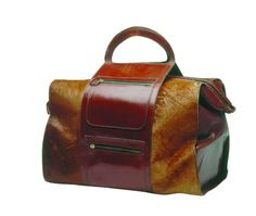 1949: The first bag created by Salvatore Ferragamo, containing his tools.