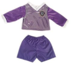 Purple Soccer Outfit For American Girl Dolls -- For more information, visit image link.Note:It is affiliate link to Amazon.