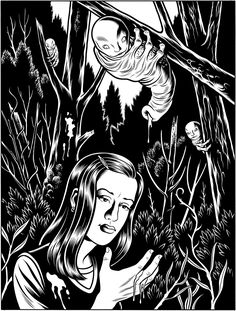 """Charles Burns - """"Le Muscle Carbine cover"""" 2007"""