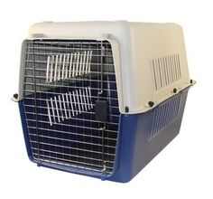 Large Dog Travel Crate (LxWxH - 32x24x22 inch) buy Online Dog Crate http://www.dogspot.in/crates/