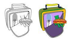 Lancheira simpatia - Helping hand lunchbox