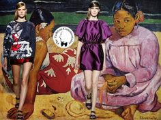 Gauguin suggestions for Aquilano.Rimondi SS2014 collection