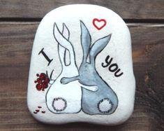 Stenen aandenken, de idee van de Gift van de verjaardag, Valentijnsdag geschenk, gepersonaliseerd steen, gepersonaliseerde Love Gift vriend / vriendin verjaardag