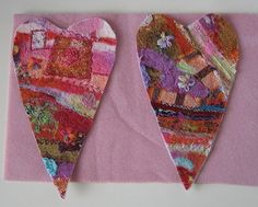 Embellisher Hearts wip by free style girl, via Flickr