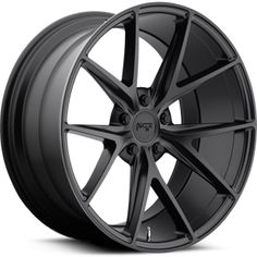 Niche Misano M117 Matte Black Wheels and Rims.