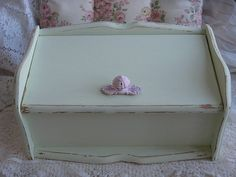 Bread Box Shabby Chic Vintage by Fannypippin,