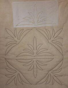 Corner Quilting Stencil - Fairy Quilt