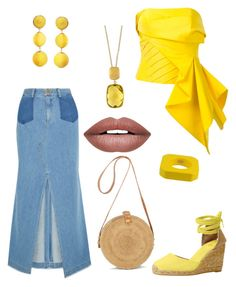 """""""Good Day Sunshine ☀️"""" by theharlemhippie-sharema on Polyvore featuring Sea, New York, Rubin Singer, Castañer, Humble Chic, Dsquared2, Effy Jewelry and Forever 21"""