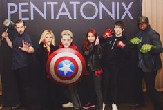 THIS IS MY FAVORITE THING EVER PTX + AVENGERS OML