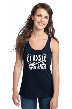 classic since 1973 1 Racerback Tank