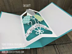 Join me as I teach you how to make this awesome card perfect for anyone on your list (complete with Video Tutorial-and a surprise inside) using Stampin Up's Balloon Adventures Stamp set and coordinating Balloon Pop-Up Thinlits on my blog: www.thecreativitycave.com #stampinup #thecreativitycave #balloonadventures #wwyschallengeblog