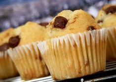 Muffin alle gocce di cioccolato