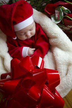 Baby Christmas Photography
