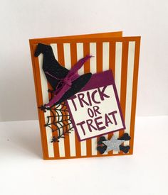 Another Halloween Card! :: Confessions of a Stamping Addict Created by Gina Shappa Posted by Lorri Heiling, Stampin' Up