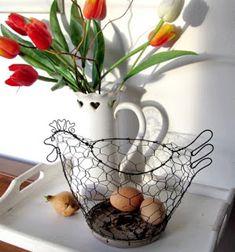 Planter Pots, Diy, Vegetable Garden, Wire, Baskets, Bricolage, Diys, Handyman Projects, Do It Yourself