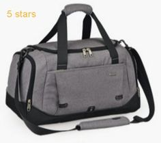 CLEARANCE BIG SALE-Mixi Carry On Luggage Duffel Gym Bag Weekender Overnight Bag for Sports Travel