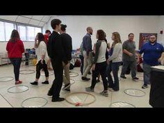 Rob Amchin—University of Louisville—Hula Hoop Rhythm game - YouTube