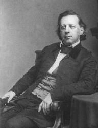 Henry Ward Beecher. He was the most popular religious lecturer in The United States for 10 solid years. The day after his death 50,000 people filed past his coffin to say goodbye.