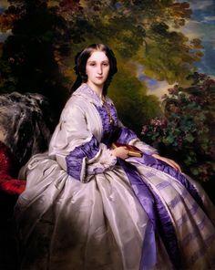 Countess Alexander Nikolaevitch Lamsdorff (Maria Ivanovna Beck, 1835–1866)  Franz Xaver Winterhalter (German, Menzenschwand 1805–1873 Frankfurt)  Date: 1859