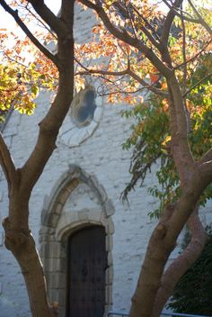 St. Joan of Arc Chapel - Marquette University (c. 1412) - oldest existing structure in North America.  I went there for 8pm Sunday Mass before. Very beautiful :)