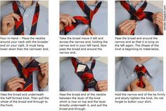 How To Knot A Tie.