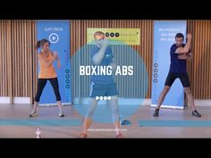 NEW Body Project Boxing Abs cardio workout from home - YouTube