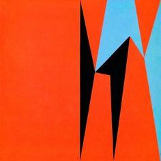 Lorser Feitelson: Dichotomic Organization, 1959, oil on canvas, 60 x 60 inches
