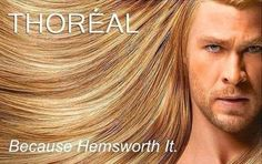 Pinning Thoriel again for my girls @Samantha Willes & Michele! So funny, Thor :)