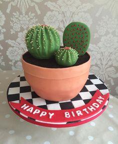 Cactus cake - Cake by Samantha clark