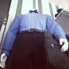 #carry#businessman#bow#blue#shirt#belt#fashion#shopping