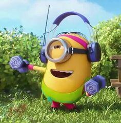 Minion Art, Despicable Me 2 Minions, Cute Minions, Minions Funny Images, Minion Pictures, Emoji Images, Minions Quotes, Funny Pictures, Funny Minion