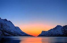 Arctic Sunset in Norway
