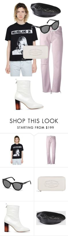 """STYLE FINDS #2"" by nadhyaa-meysha ❤ liked on Polyvore featuring Enfants Riches Déprimés, Alyx, Dsquared2, Louis Vuitton, KG Kurt Geiger and Gucci"