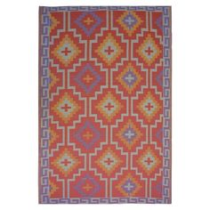 I pinned this Lhasa 6' x 9' Indoor/Outdoor Rug from the Style Study: Moroccan Oasis event at Joss and Main!