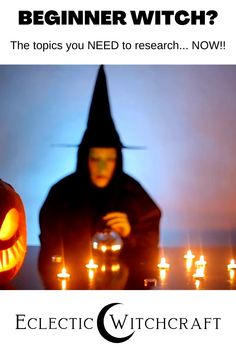 These are the beginner witch research topics to help you become a witch.