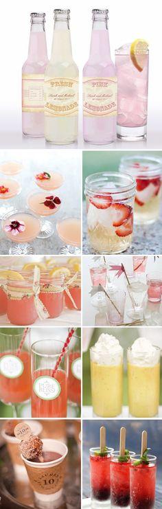 wedding cocktail inspiration