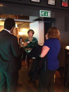 Some more delegates networking at The Nottingham Playhouse in October