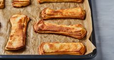 Klasszikus péksüti, a pacsni recept   Street Kitchen Naan, French Toast, Biscuits, Muffin, Breakfast, Bread, Food, Crack Crackers, Morning Coffee