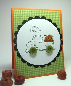 Happy harvest by lhs43 - Cards and Paper Crafts at Splitcoaststampers