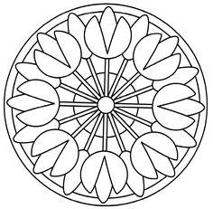 Mandalas de Primavera Hoy os dejamos estas estupendas mandalas para colorear con dibujos de primavera. Ya sabéis que las mandalas las podemos utilizar.....