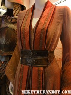 from HBO's Game Of Thrones Prop and Costume Display in New York City