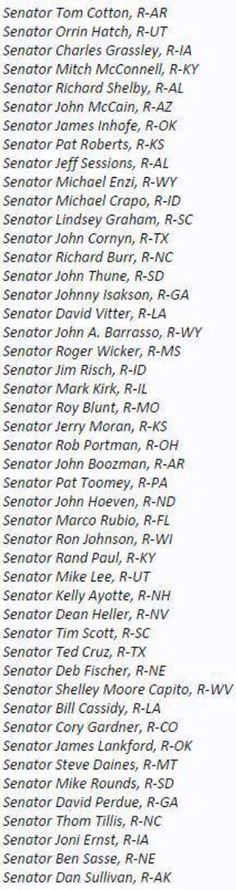 These 47 senators have broken the law. They sent an open letter to Iran telling them they can and will undo any deal made with Obama. As the President feverishly works to heal tensions between the two countries and work out a peace deal, the un-American, traitorous, treasonous, back-stabbing group of Republican senators are trying to sabotage his every move.