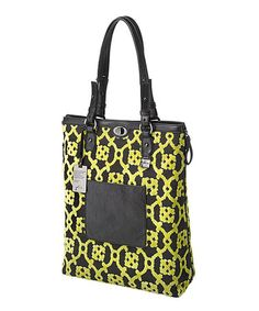 Another great find on #zulily! Midnight Saffron Troubadour Expandable Tote #zulilyfinds