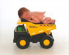 My little guy's newborn photo. Idea from Pinterest.