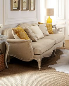 Old Hickory Tannery - Anastacia Pearl Sofa - tufted furniture in greige.jpg