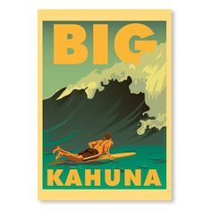 Big – A2 from Surf-Time Posters - R199 (Save 0%)