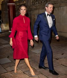 See Princess Mary of Denmark's Unusual Sign of Respect for Queen Margrethe — People Royal Family Pictures, Denmark Fashion, Prince Frederick, Princess Marie Of Denmark, Danish Royalty, Danish Royal Family, Wedding Dress, Crown Princess Mary, Over 50 Womens Fashion