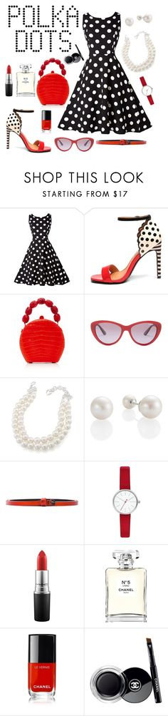 """Untitled #318"" by gissela540 ❤ liked on Polyvore featuring Mambo, Nancy Gonzalez, Vogue Eyewear, Carolee, Haider Ackermann, Skagen, MAC Cosmetics and Chanel"