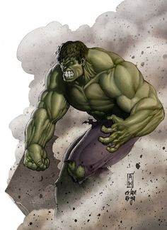 #Hulk #Fan #Art. (I'm always angry! Color) By: ChekydotStudio.