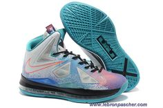 size 40 55c19 cd00b Buy Aaa Nike Lebron X 10 Pure Platinum Black Sport Turquoise Lastest from  Reliable Aaa Nike Lebron X 10 Pure Platinum Black Sport Turquoise Lastest  ...